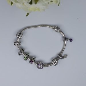 Pandora bracelet  9 charms